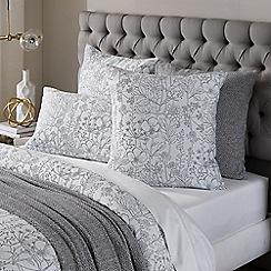 Sheridan - White 'Beadmore' square pillow case