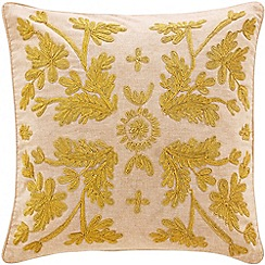 Sheridan - Gold 'Blanke' cushion