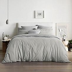 Sheridan - Pale grey 250 thread count 'Nashe' bedding set