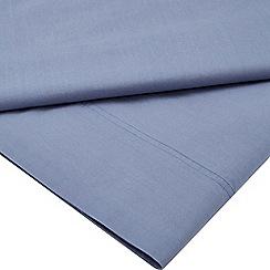 Sheridan - Blue 250 thread count 'Nashe' flat sheet