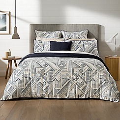 Sheridan - Midnight 'Emden' bed linen