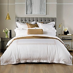 Sheridan - Light brown 700 thread count 'Hickes' duvet cover