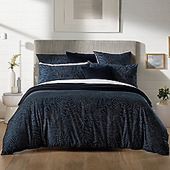 Sheridan - Navy 280 thread count 'Makers' bedding set