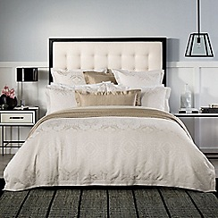 Sheridan - Chalk 'Visconti' bed linen