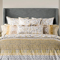 Sheridan - Gold 300 thread count 'Mercurio' Oxford pillow case pair