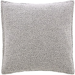 Sheridan - Dove knitted 'Earley' square pillow case