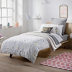 Sheridan - Fog 'In bloom' bed linen
