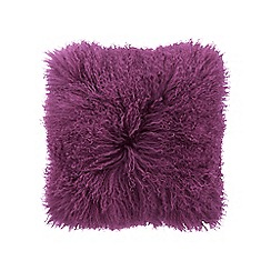 Sheridan - Purple 'Bligh' cushion