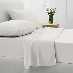 Sheridan - White 500 thread count cotton sateen square pillow case