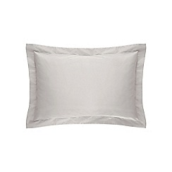 Sheridan - Silver '500 thread count cotton sateen' Oxford pillow case pair