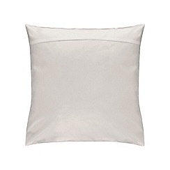 Sheridan - Silver '500 thread count cotton sateen' square pillow case