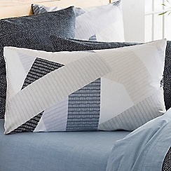 Sheridan - Blue 220 thread count 'Eastam' pillow case pair