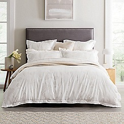 Sheridan - Beige 380 thread count 'Hollins' duvet cover