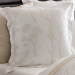 Sheridan - Beige 380 thread count 'Hollins' square pillow case