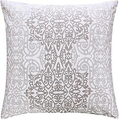 Sheridan - Grey 'Gratten' square pillow case