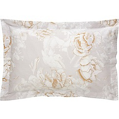 Sheridan - Beige 380 thread count 'Lumley' Oxford pillow case pair