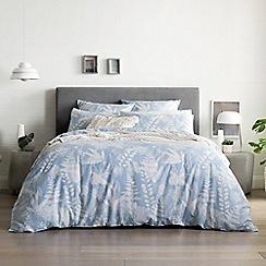 Sheridan - Light blue 220 thread count 'Niland' duvet cover