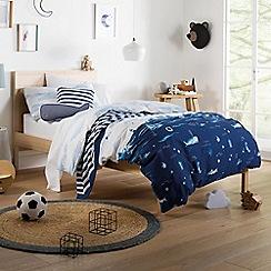Sheridan - Dark blue 200 thread count 'Busselton' bedding set