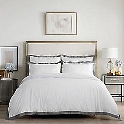 Sheridan - Dark grey 400 thread count 'Edington' bedding set