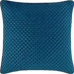 Sheridan - Dark blue 'Emington' square cushion
