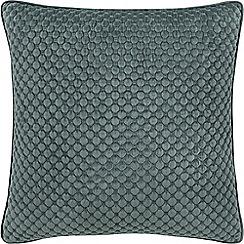 Sheridan - Mid blue 'Emington' square cushion