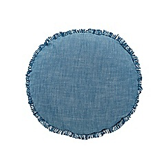 Sheridan - Dark blue 'Parmers' cushion