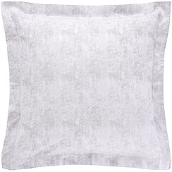 Sheridan - Silver 200 thread count 'Jarmen' square pillow case