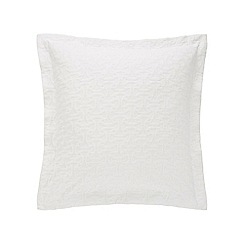 Sheridan - White 200 thread count 'Otterson' square pillow case