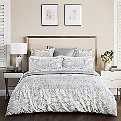Sheridan - Silver 'Villers' 200 thread count duvet cover