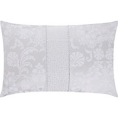 Sheridan - Silver 'Villers' 200 thread count Oxford pillow case pair
