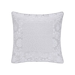 Sheridan - Silver 'Villers' 200 thread count square pillow case