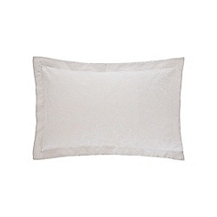 Sheridan - Natural 'Drummond' 200 thread count Oxford pillow case pair