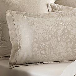 Sheridan - Yellow 200 thread count 'Eagen' oxford pillow case pair