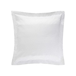 Sheridan - White 'Ashwood' square pillow case