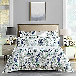Sheridan - Purple 240 thread count 'Elken' bedding set