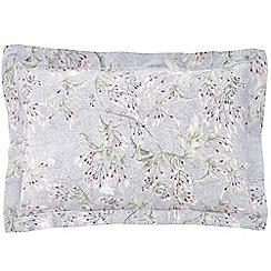 Sheridan - Dark grey 300 thread count 'Lineham' oxford pillow case pair