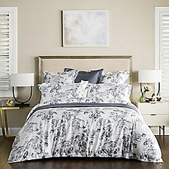 Sheridan - Dark blue 'Penleigh' 380 thread count bedding set