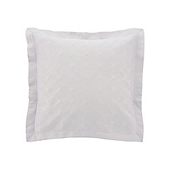 Sheridan - Light grey 'Loeman' cushion