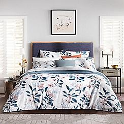 Sheridan - Mid blue 280 thread count 'Rosanna' bedding set