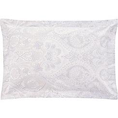 Sheridan - Pale blue 300 thread count 'Bevan' standard pillow case pair