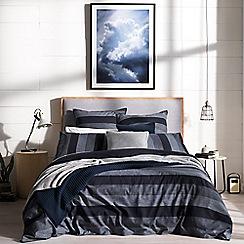 Sheridan - Bright blue 200 thread count 'Redfield' bedding set