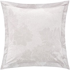 Sheridan - Pale grey 'Wainright' square pillow case