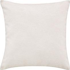 Sheridan - White 'Clifford' square cushion