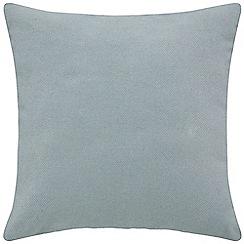 Sheridan - Mid blue 'Clifford' square cushion