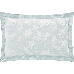 Sheridan - Pale blue 'Forbes' Oxford pillow case pair