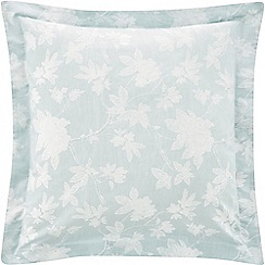 Sheridan - Pale blue 200 thread count 'Forbes' square pillow case