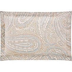 Sheridan - Light blue 'Dalgarno' Oxford pillow case pair