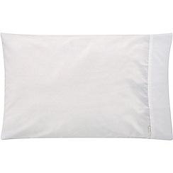 Sheridan - White 500 thread count 'Tencel' standard pillow case pair