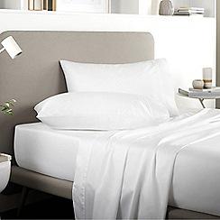 Sheridan - White 500 thread count 'Tencel' flat sheet