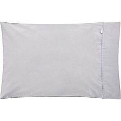 Sheridan - Pale grey 500 thread count 'Tencel' standard pillow case pair